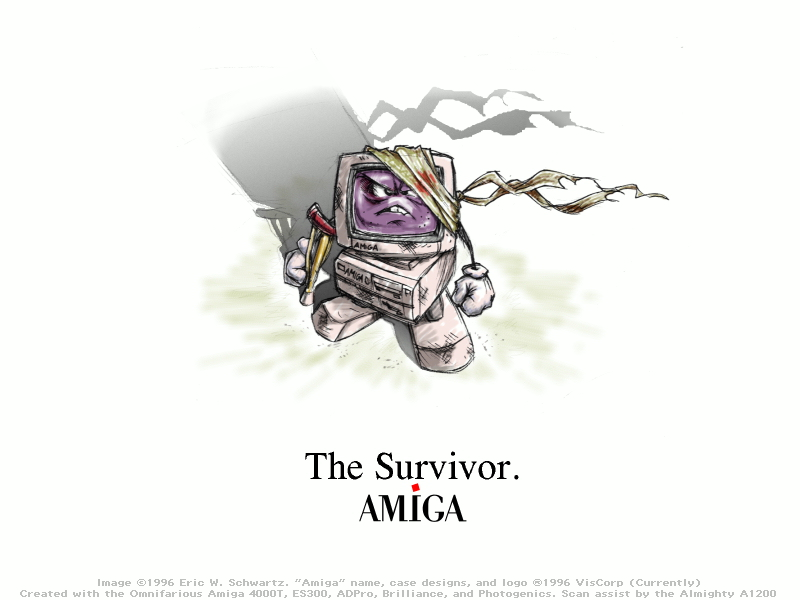 'Amiga - The Survivor' by Eric W. Schwartz